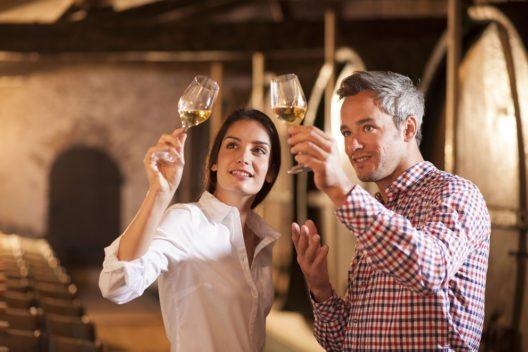 Weinproben sind beliebte Freizeitaktivitäten. (Bild: Jack Frog – Shutterstock.com)