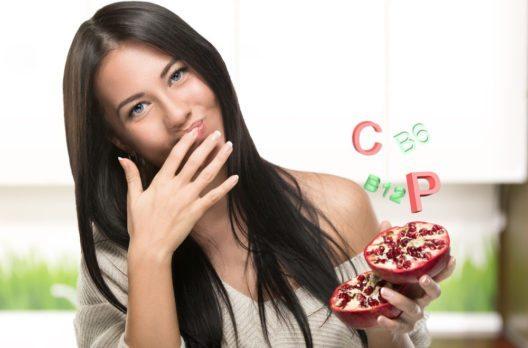 Granatäpfel sind sehr gesund, und bringen auch etwas Exotik in unsere Küche. (Bild: Jenoche – Shutterstock.com)