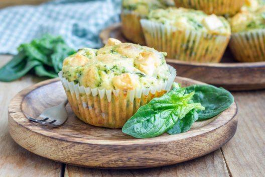 Die Muffins schmecken auch herzhaft sehr lecker. (Bild: iuliia_n – Shutterstock.com)