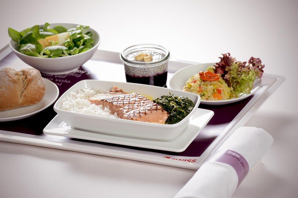 Swiss International Air Lines erweitert ihr Speisen-Angebot in der Economy Class.