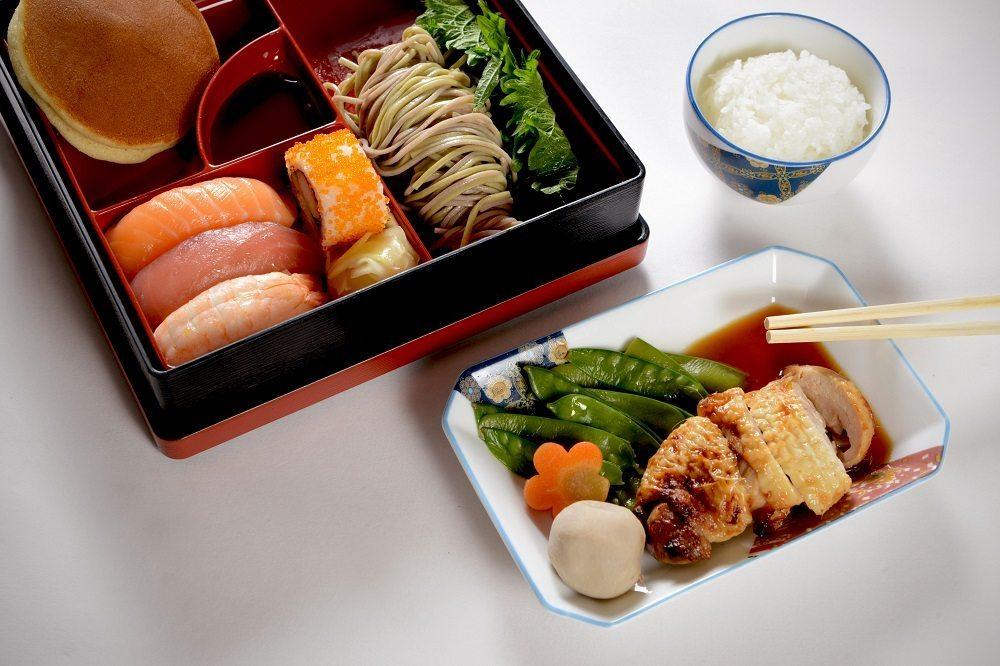 Japanische Spezialitäten runden das Angebot ab.