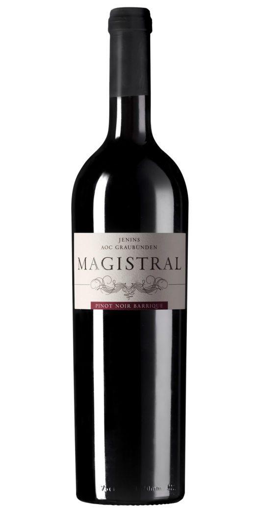 Der MAGISTRAL Pinot Noir Barrique hat die Auszeichnung Gold erhalten. (Bild: © Rimuss- und Weinkellerei Rahm AG)