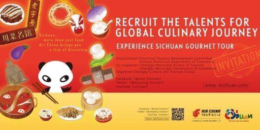 """Sichuan Cuisine – More Than Just Taste"" hält weltweit Ausschau nach Talenten. (Bild: Tourism Administration of Sichua)"