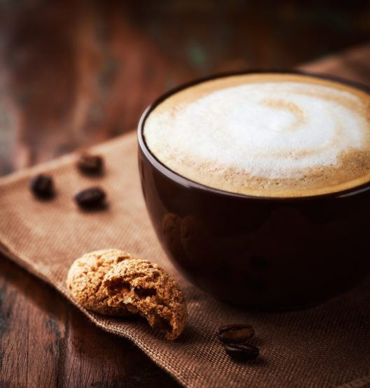 Milchkaffee (Bild: © Barbara Dudzinska - shutterstock.com)
