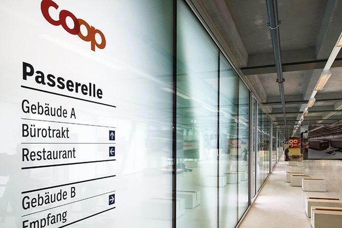 Coop eröffnete im Juni 2016 ein neues Logistik- und Bäckereizentrum in Schafisheim.