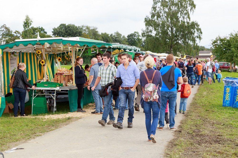 Bauernmarkt Besucher