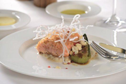 SWISS verwöhnt die Gäste mit Köstlichkeiten aus dem Kanton St. Gallen.