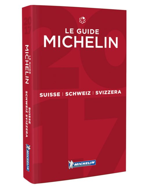 Cover des Guide MICHELIN Schweiz 2017 (Bild: Michelin)