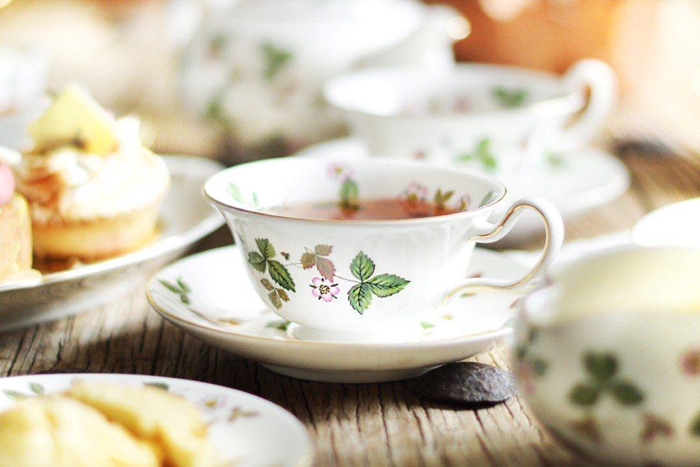 Tea Time Voll Im Trend Interio Bring Wild Straberry Von Wedgwood