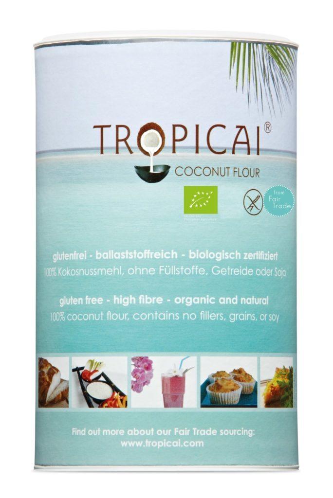 Tropicai Bio Kokosmehl
