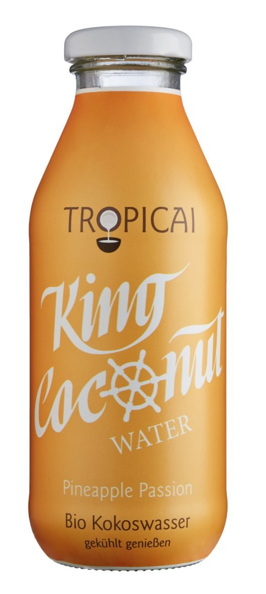 Tropicai Bio King Coconut Water Pineapple Passion