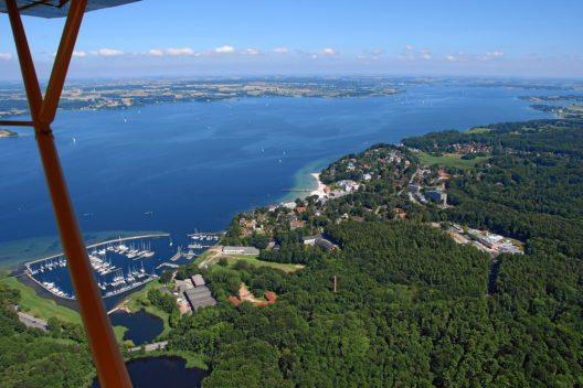 Flensburger Förde mit Yachtschule