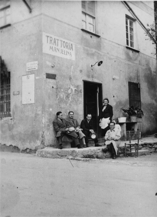 Manuelina Anfang des 19. Jahrhunderts (© Ristorante Manuelina)