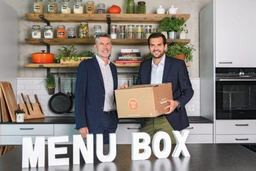 Links: CEO Lidl Schweiz Georg Kröll / Rechts: Leiter Bereich Menu Box Lidl Schweiz Remo Brugger
