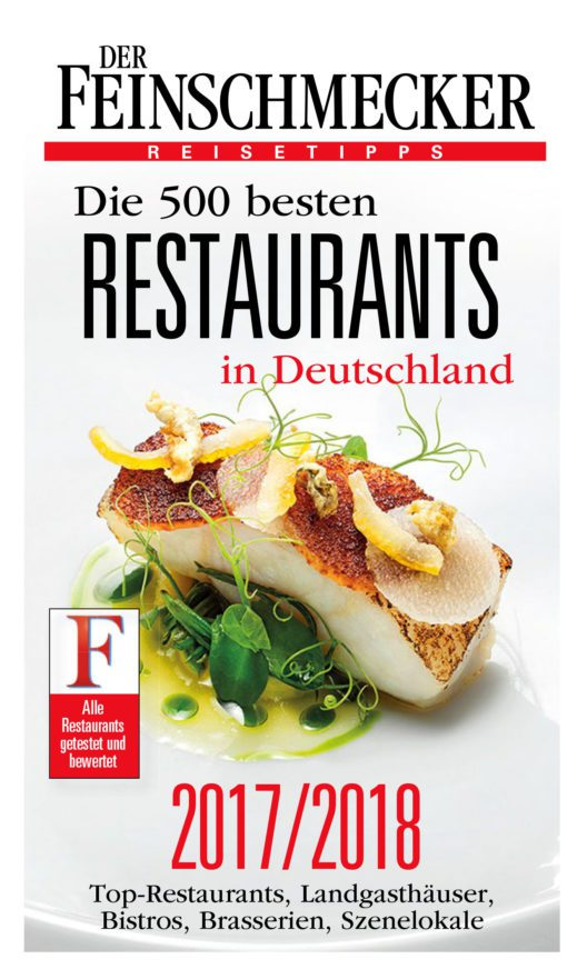 """DER FEINSCHMECKER """"Die 500 besten Restaurants 2017/2018"""" (Bild: obs/Jahreszeiten Verlag, DER FEINSCHMECKER)"""