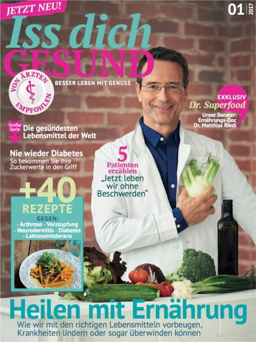 """Neues Magazin """"Iss dich gesund"""" (Bild: obs/Jahreszeiten Verlag GmbH)"""
