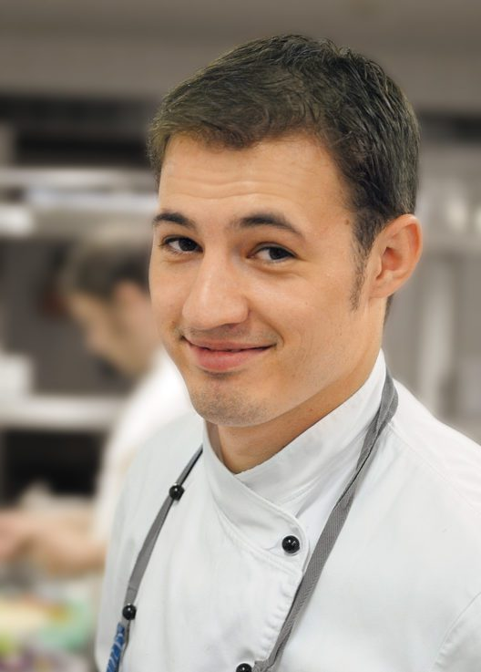 Küchenchef Sascha Kemmerer