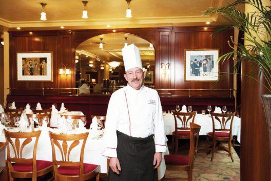 Dominique Stenger – Küchenchef des Restaurants Chez Victor's