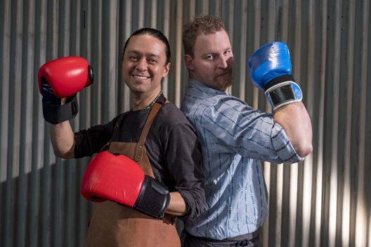 Luis Romo und Christian Jakob