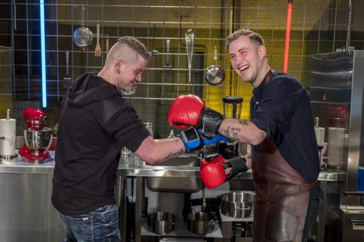 Michael Kumpusch und Alexander Bindig