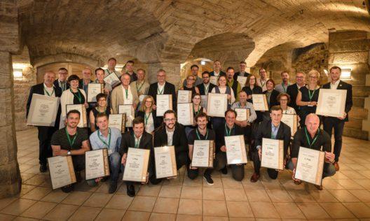 Preisverleihung Best of Riesling 2018