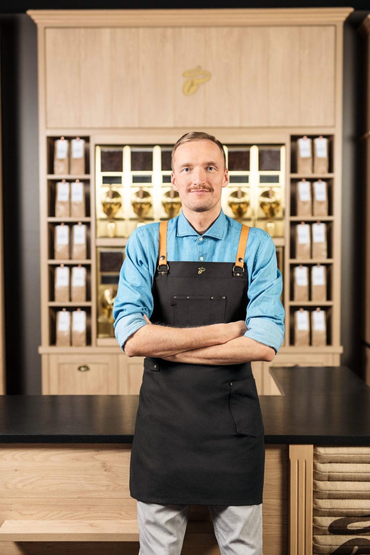 Benjamin Widegreen, Kaffeesommelier bei Tchibo