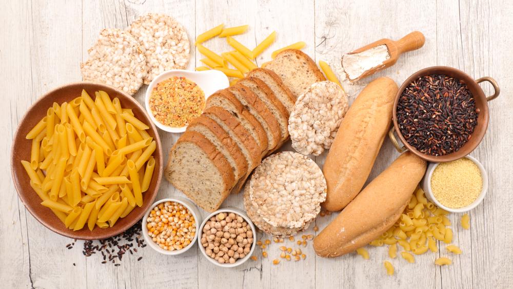 Auswahl glutenfreier Lebensmittel