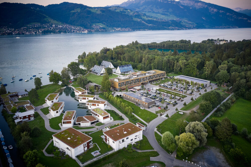 Deltapark Vitalresort in Gwatt bei Thun (Bild: © Romel Janeski)