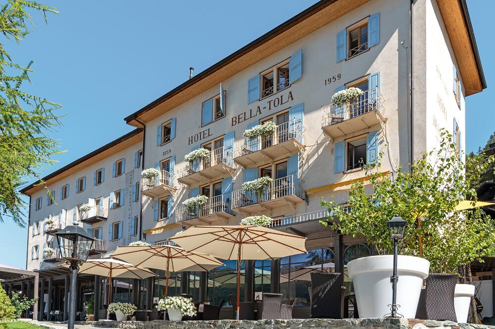 Hôtel Bella Tola & St-Luc, St-Luc, VS: Tradition und Gastfreundschaft im Val d'Anniviers (Bild: Noah Steiner, Schweizer Heimatschutz)