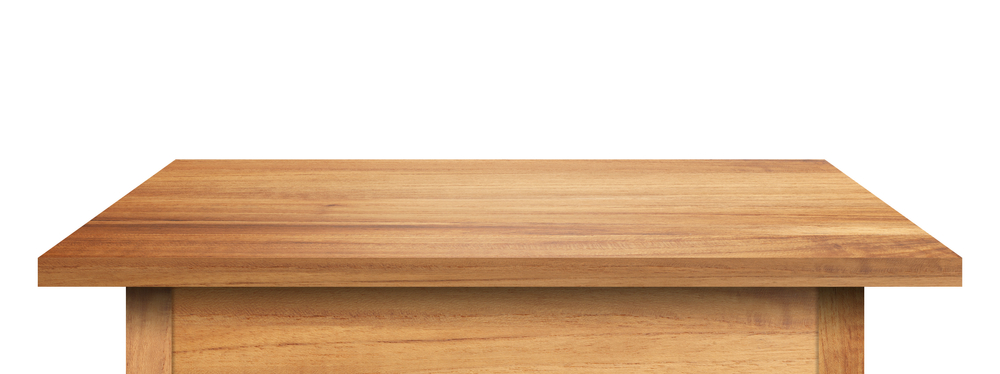 Massivholztische - eine gute Wahl (Bild: 19 STUDIO - shutterstock.com)