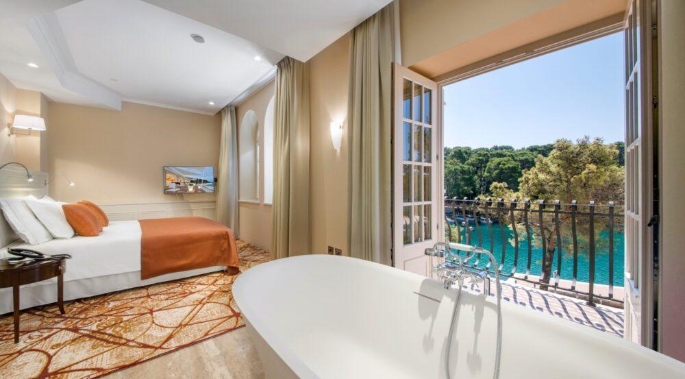 Meerblick aus der Suite des Boutique Hotel Alhambra