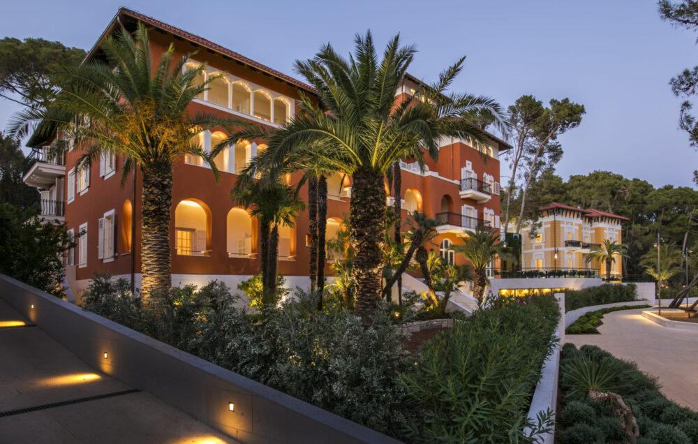 Die historische Architektur des Boutique Hotel Alhambra